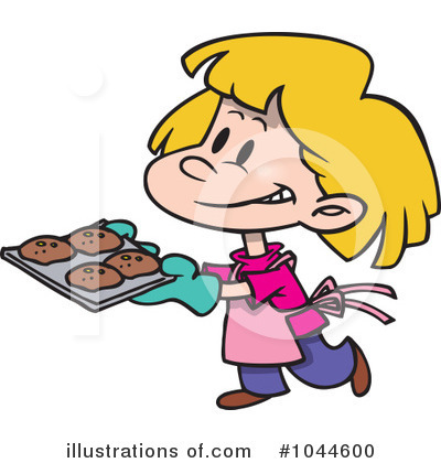Baking Clipart #1044600 - Illustration by Ron Leishman