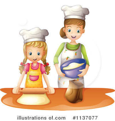Kitchen Clipart #1137077 by Graphics RF