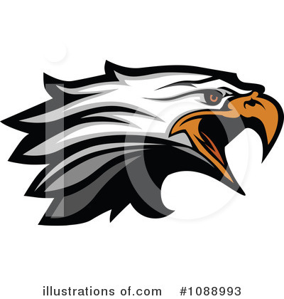 Bald Eagle Clipart #1088993 by Chromaco