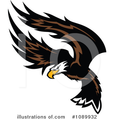 Bald Eagle Clipart #1089932 by Chromaco