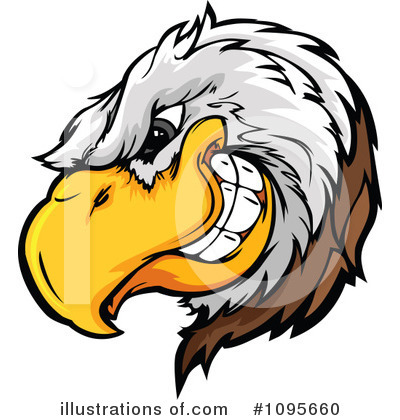 Royalty-Free (RF) Bald Eagle Clipart Illustration by Chromaco - Stock Sample #1095660