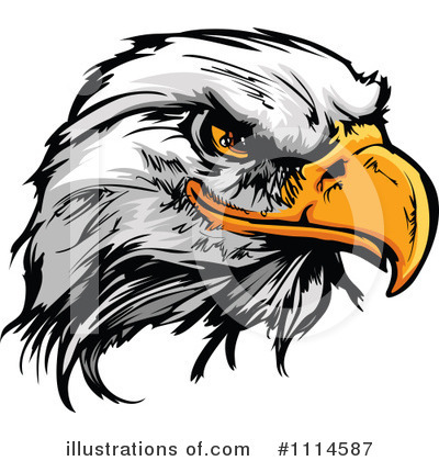 Bald Eagle Clipart #1114587 by Chromaco
