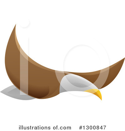 Bald Eagle Clipart #1300847 by AtStockIllustration