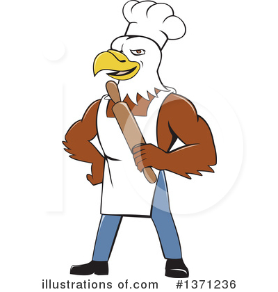 Bald Eagle Clipart #1371236 by patrimonio