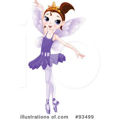 Ballerina Clipart #93499 - Illustration by Pushkin