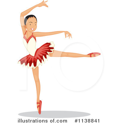 Ballerina Clipart #1138841 by Graphics RF