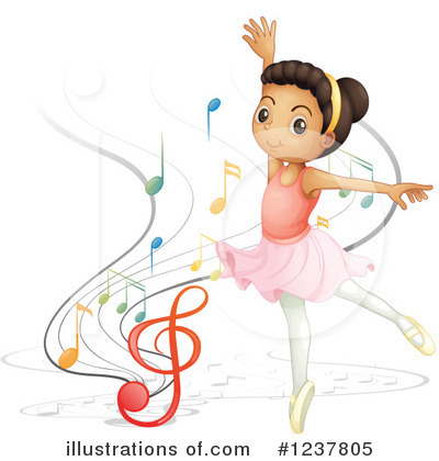 Ballerina Clipart #1237805 by Graphics RF