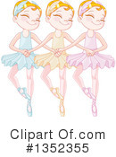 Ballet Clipart #1352355 by Pushkin