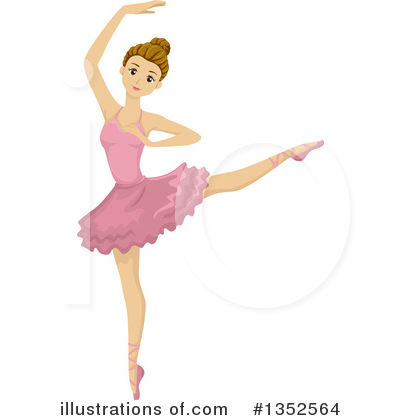ballet clipart 1352564 illustration by bnp design studio rh illustrationsof com ballet dancer clipart free ballet dancer clipart free