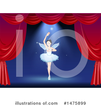 Ballerina Clipart #1475899 by Graphics RF