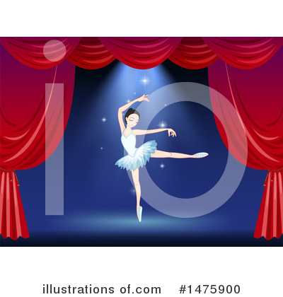 Ballerina Clipart #1475900 by Graphics RF
