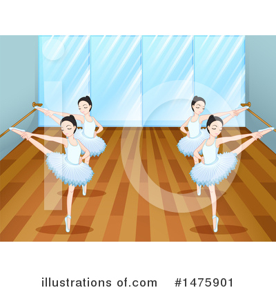 Ballerina Clipart #1475901 by Graphics RF