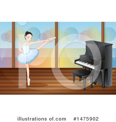 Ballerina Clipart #1475902 by Graphics RF