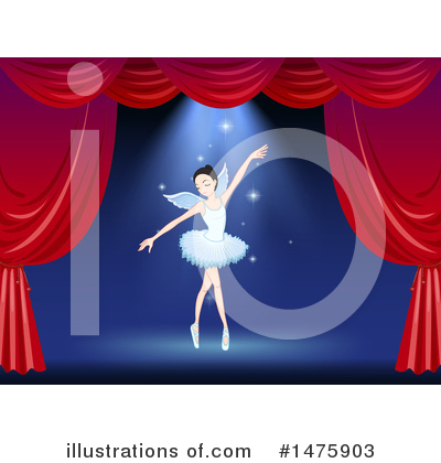 Ballerina Clipart #1475903 by Graphics RF
