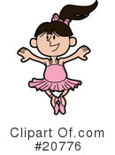 Ballet Clipart #20776 by AtStockIllustration