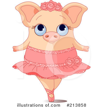 Pig Clipart #213858 by Pushkin