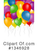 Balloons Clipart #1346928 by BNP Design Studio