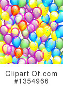 Balloons Clipart #1354966 by vectorace