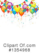 Balloons Clipart #1354968 by vectorace