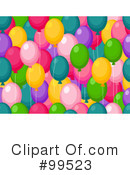 Balloons Clipart #99523 by BNP Design Studio