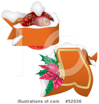 Christmas Banner Clipart #52036 by dero