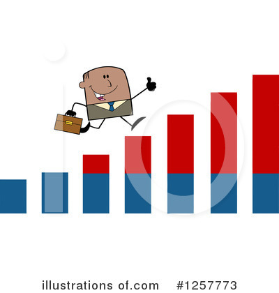Businessman Clipart #1257773 by Hit Toon