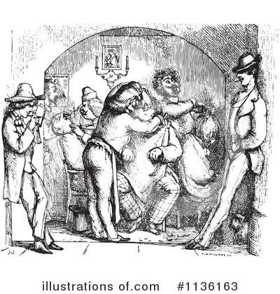 Barber Shop Clipart #1136163 - Illustration by Picsburg