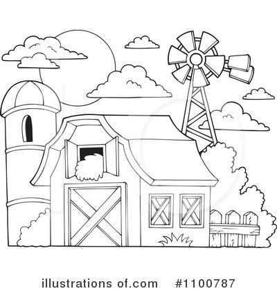 Barn Clipart 1100787 Illustration