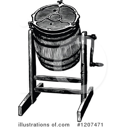 Barrel Clipart #1207471 - Illustration by Prawny Vintage