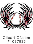 Baseball Clipart #1087936 by Chromaco