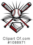 Baseball Clipart #1088971 by Chromaco