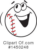 Baseball Clipart #1450248 by Johnny Sajem