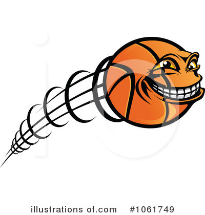 Basketball Clipart #1061749 - Illustration by Vector ...