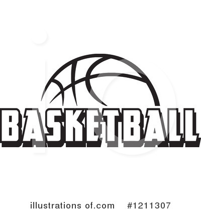 Basketball Clipart #1211307 - Illustration by Johnny Sajem