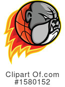 Basketball Clipart #1580152 by patrimonio