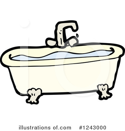 bath tub clipart 1243000 illustration by lineartestpilot rh illustrationsof com tub clipart black and white baby in a bathtub clipart