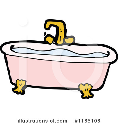 bathtub clipart 1185108 illustration by lineartestpilot rh illustrationsof com tub clipart images tub clipart images