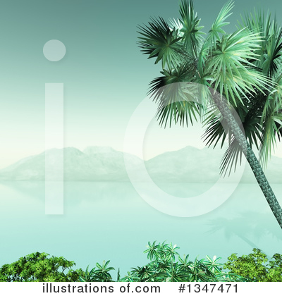 Beach Clipart #1347471 by KJ Pargeter
