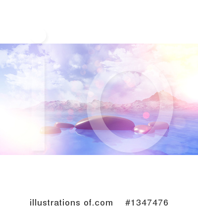 Mountains Clipart #1347476 by KJ Pargeter
