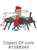 Bbq Clipart #1098340 by LaffToon