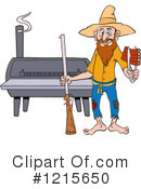 Bbq Clipart #1215650 by LaffToon