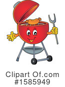 Bbq Clipart #1585949 by visekart