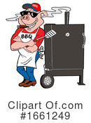 Bbq Clipart #1661249 by LaffToon