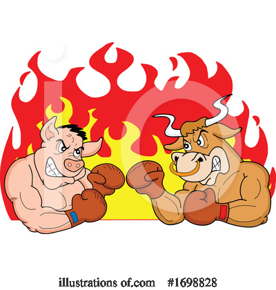 Royalty-Free (RF) Bbq Clipart Illustration by LaffToon - Stock Sample #1698828