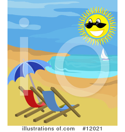Sunshine Clipart #12021 by AtStockIllustration