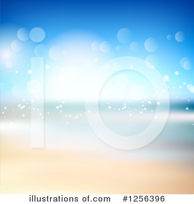 Beach Clipart #1256396 by KJ Pargeter