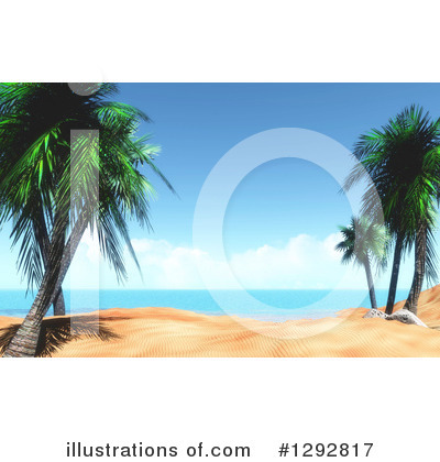 Beach Clipart #1292817 by KJ Pargeter
