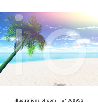 Beach Clipart #1300932 by KJ Pargeter