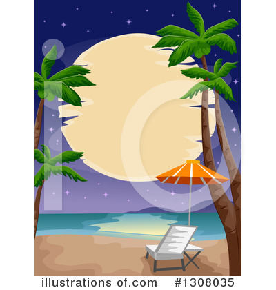 Palm Trees Clipart #1308035 by BNP Design Studio