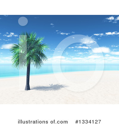 Beach Clipart #1334127 by KJ Pargeter